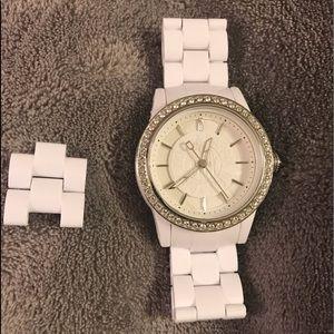 Beautiful Dkny white watch